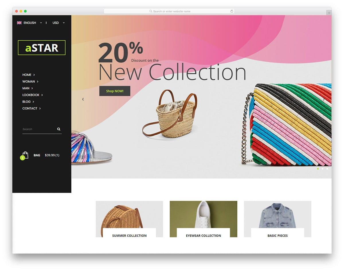 astar-free-fashion-website-templates