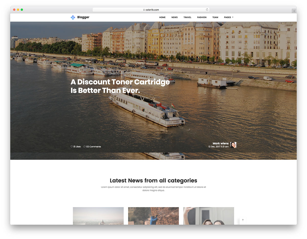 blogger-free-bootstrap-blog-templates