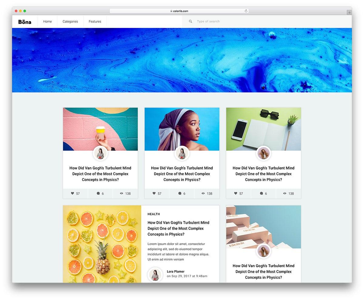 bona-free-bootstrap-blog-templates