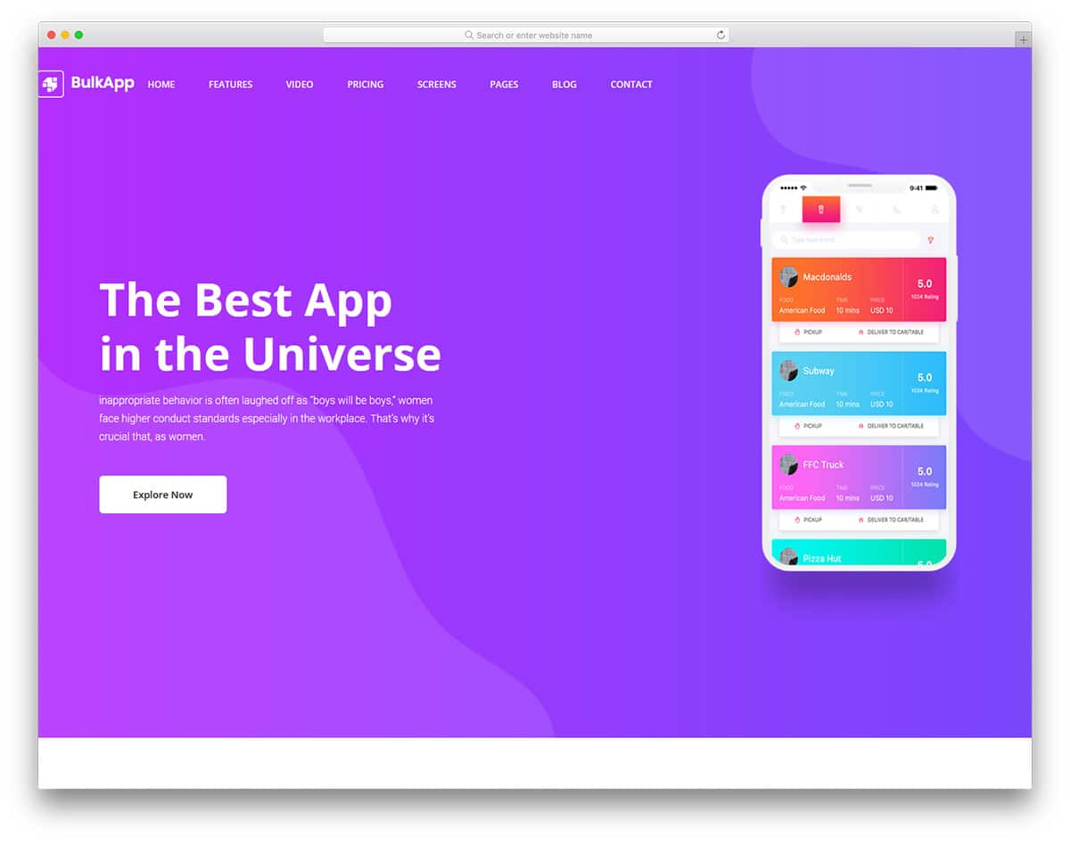 bulkapp-free-bootstrap-landing-page-templates