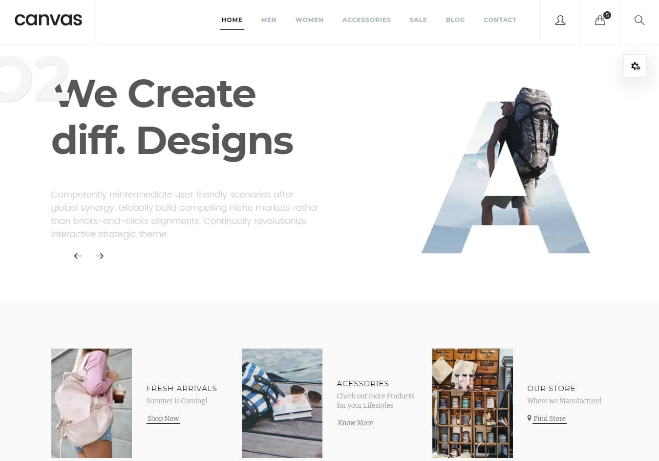 canvas-html-ecommerce-website-templates