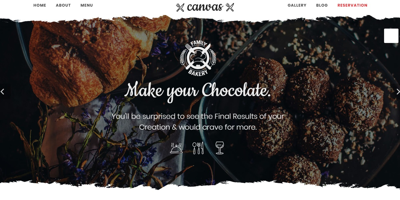 canvas-restaurant-website-template