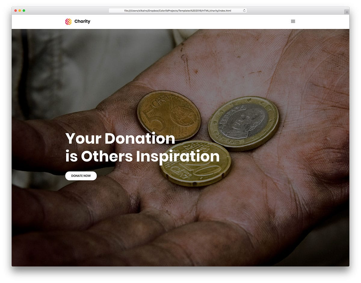 charity-free-church-website-templates