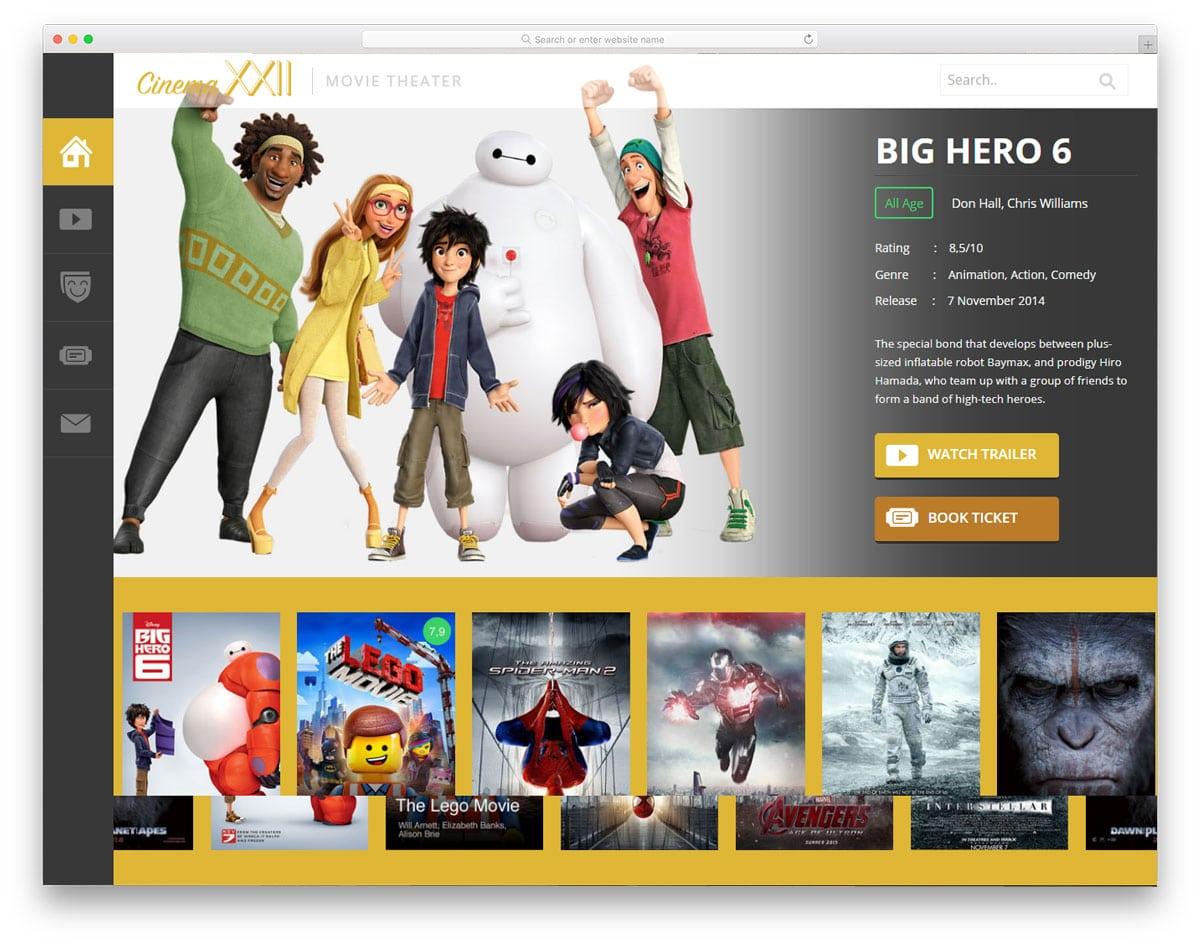 cinema-free-news-website-templates