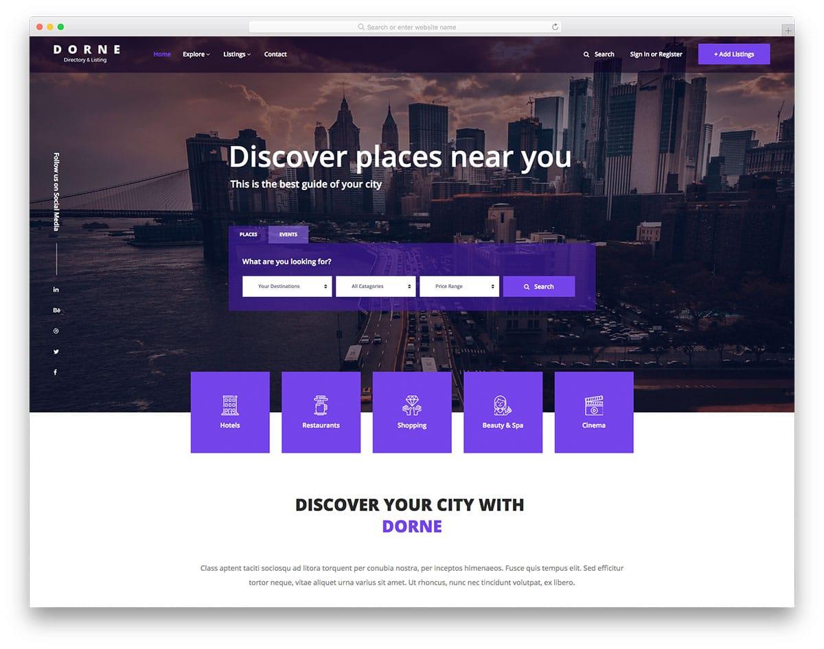 dorne-free-real-estate-website-templates