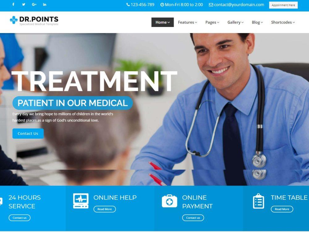 Amazing Premium HTML Medical Website Templates For - Medical website templates
