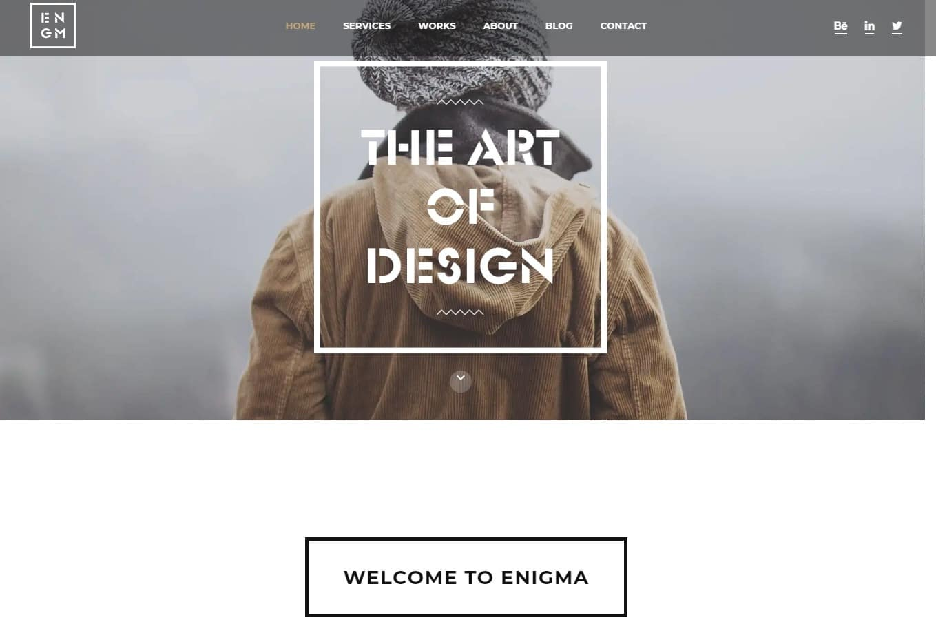 enigma-html-blog-template