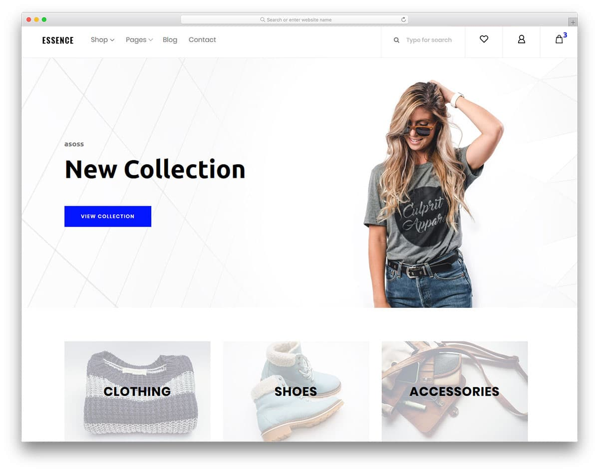 essence-free-fashion-website-templates