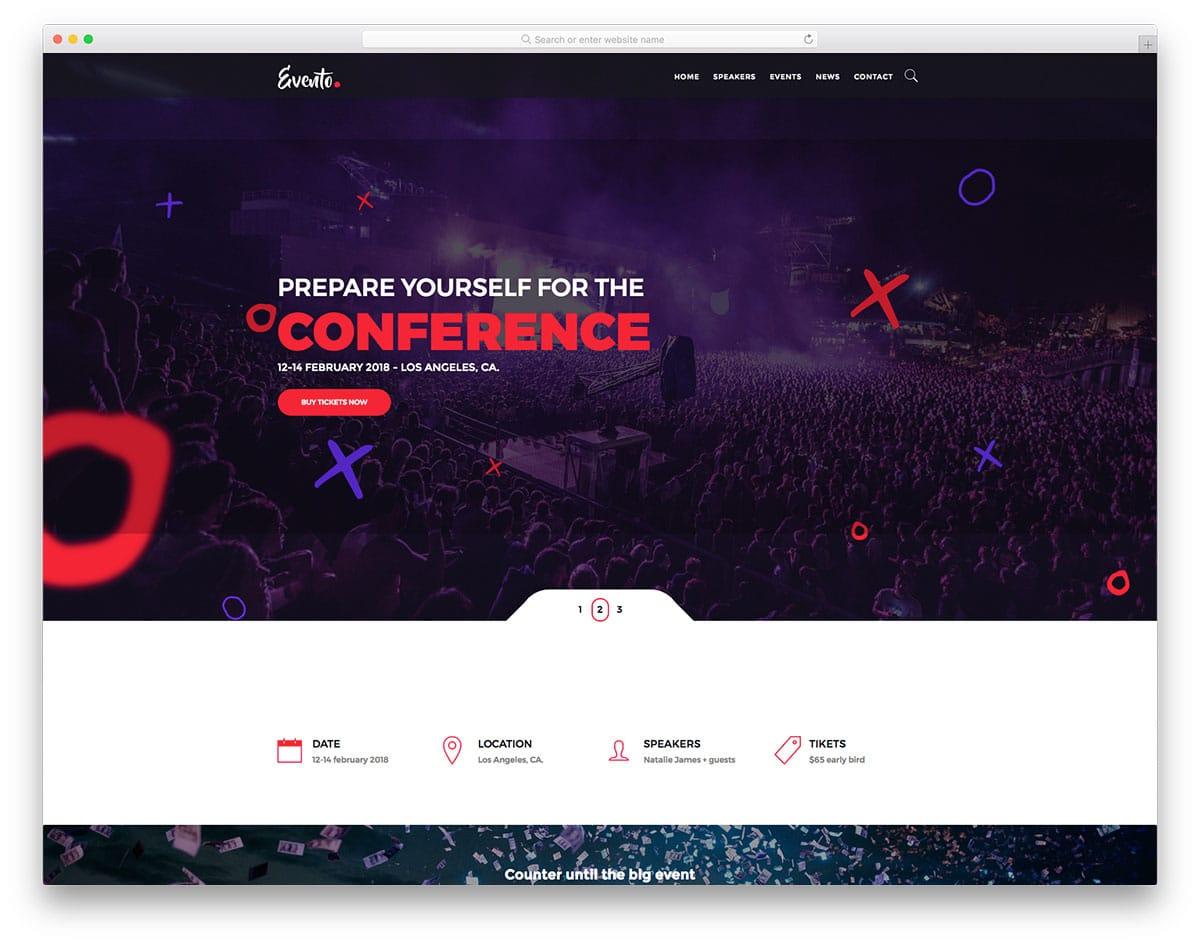 evento-free-hotel-website-templates