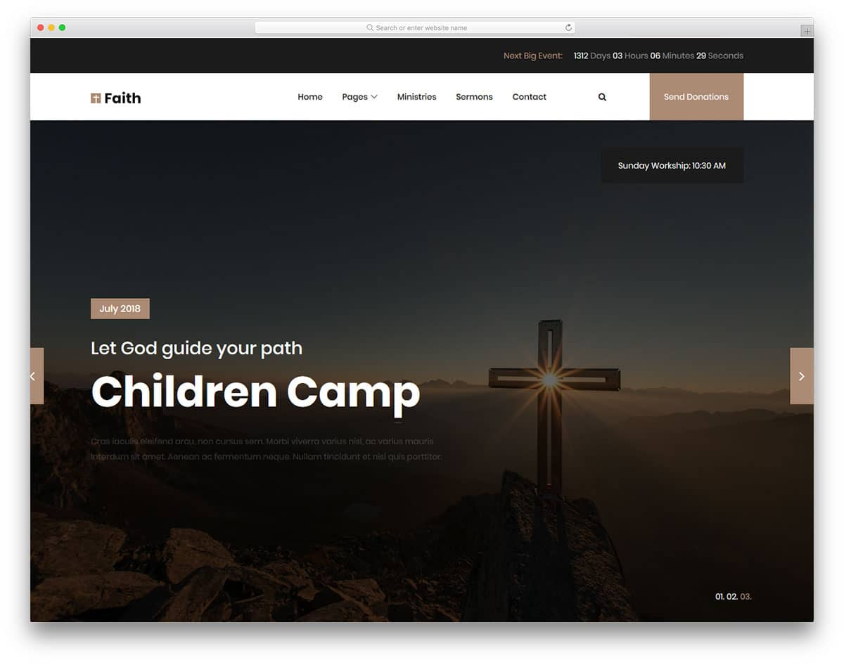 faith2-free-church-website-templates