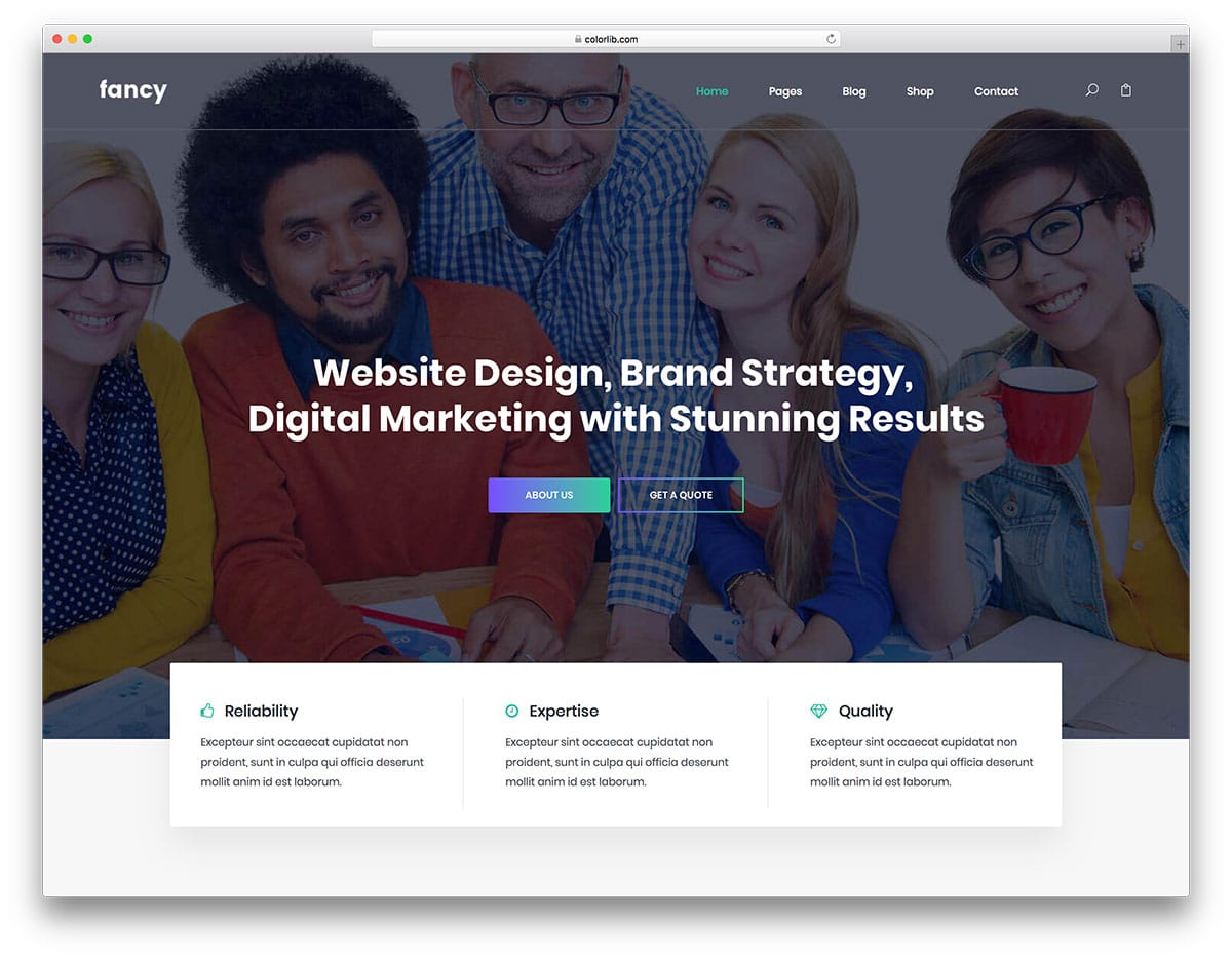 fancy-free-bootstrap-landing-page-templates