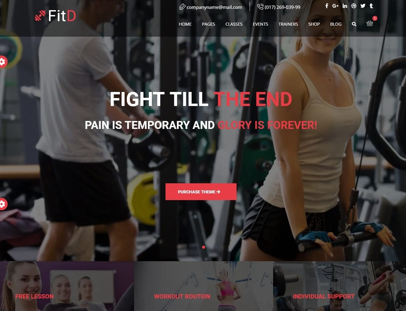 fitd-html-fitness-website-template