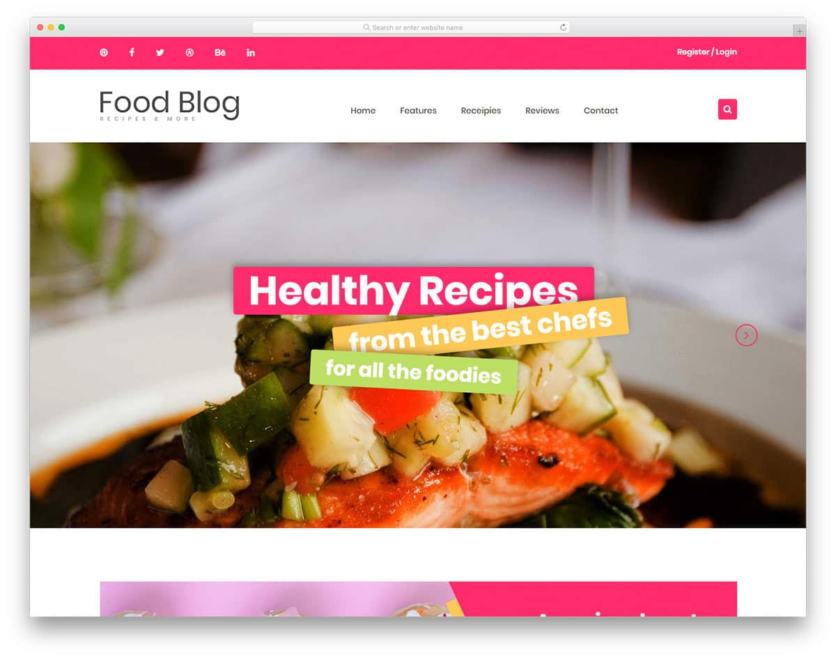 foodblog-free-blog-templates