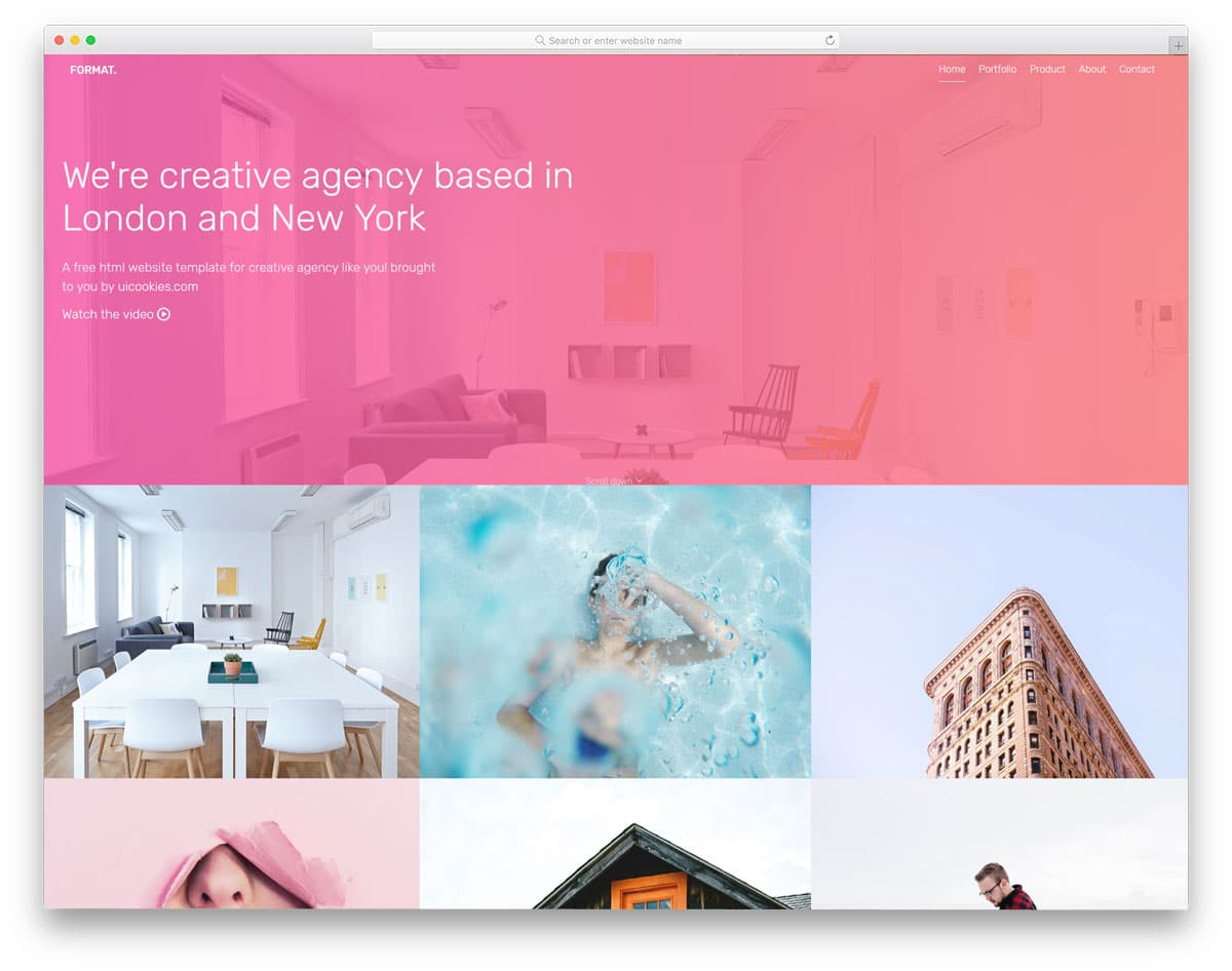 format-free-hotel-website-templates