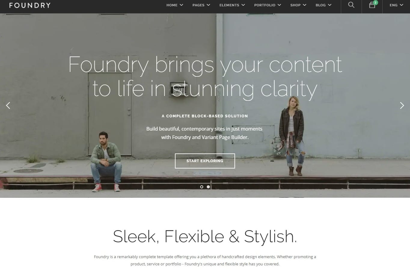 foundry-html-blog-template