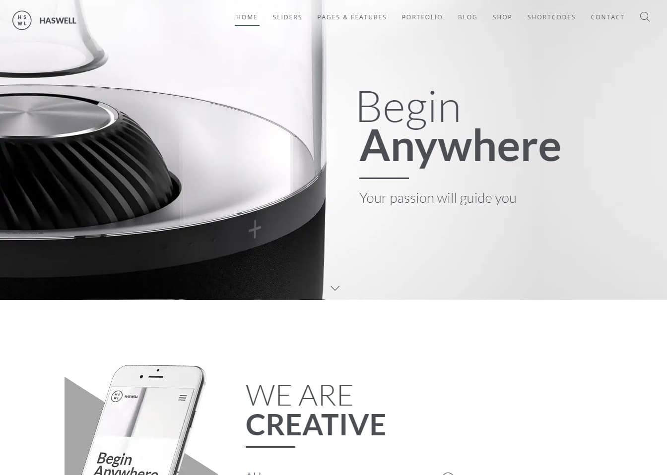 haswell-html-blog-template