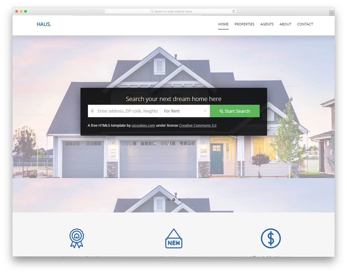21 Best Free Real Estate Website Templates For Successful Realtors 2018