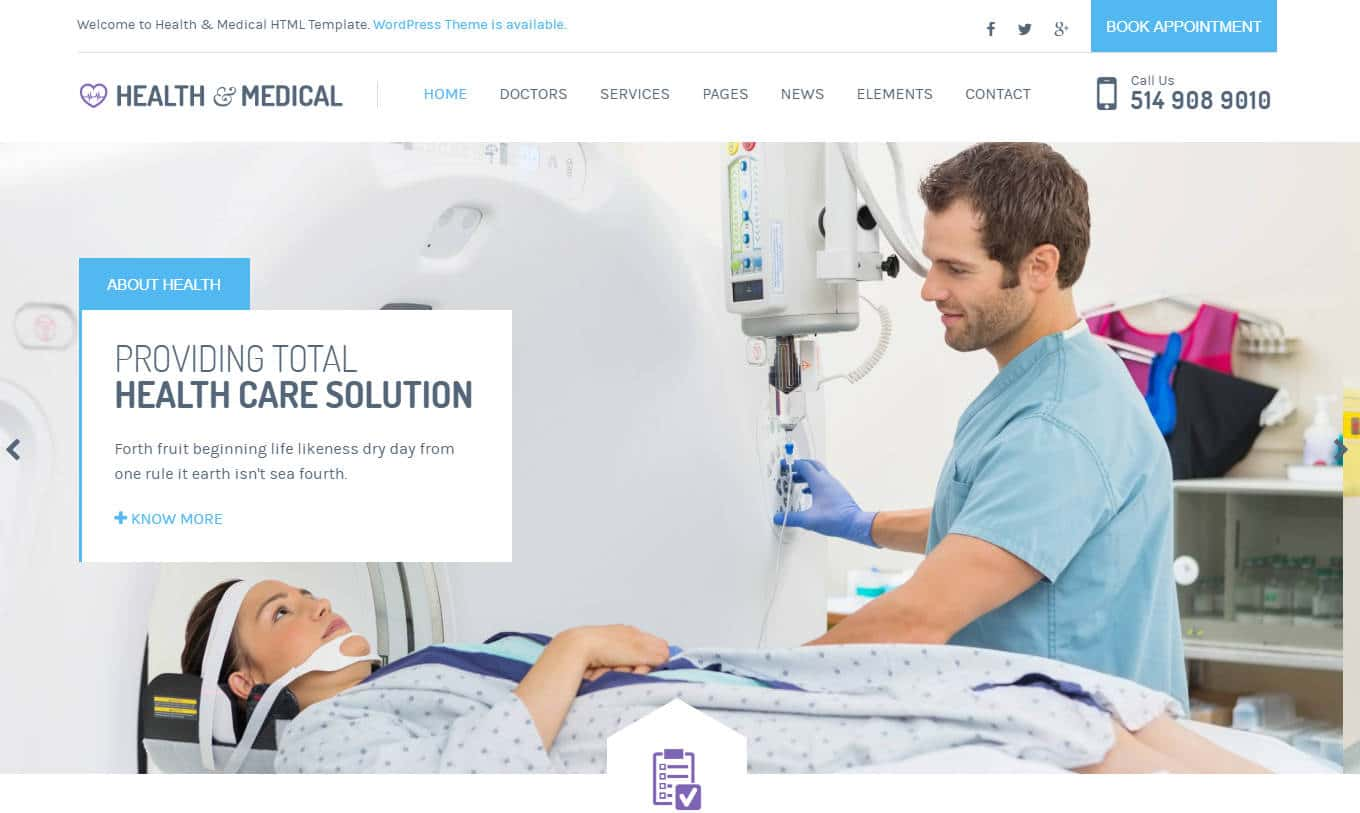 health and medical-html-medical-website-template