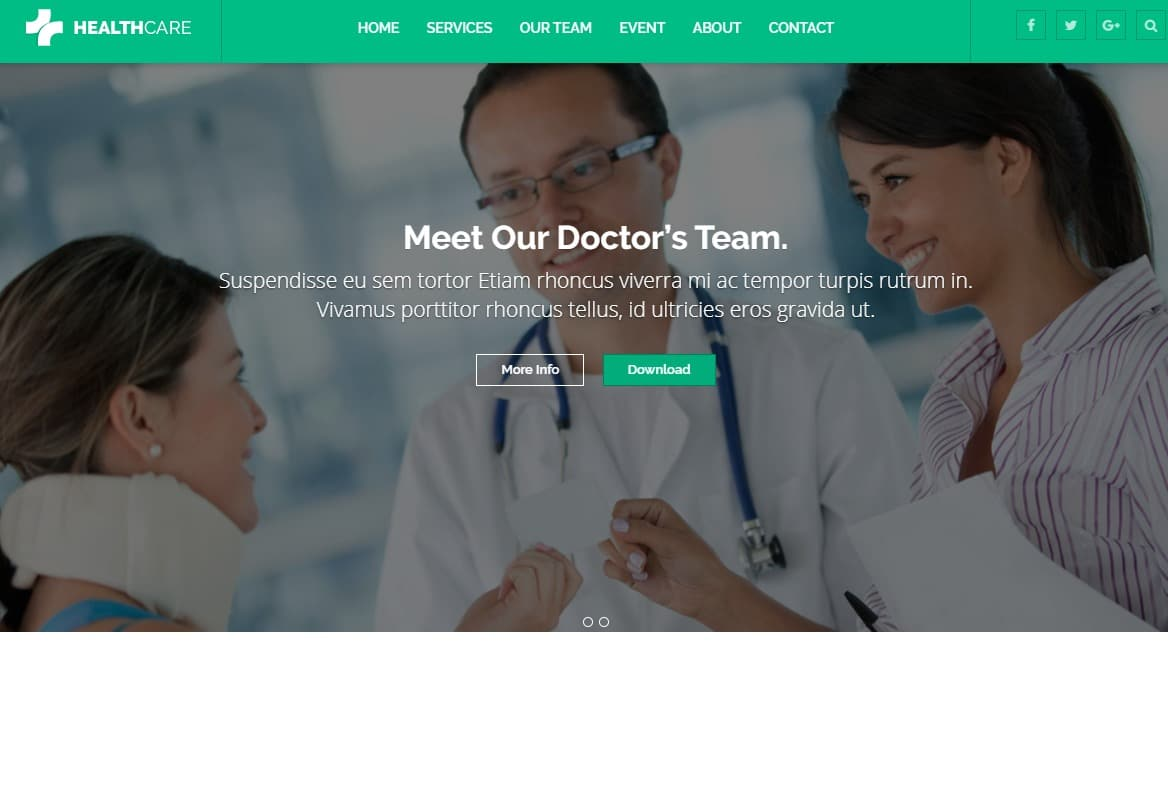 healthcare-html-medical-website-template