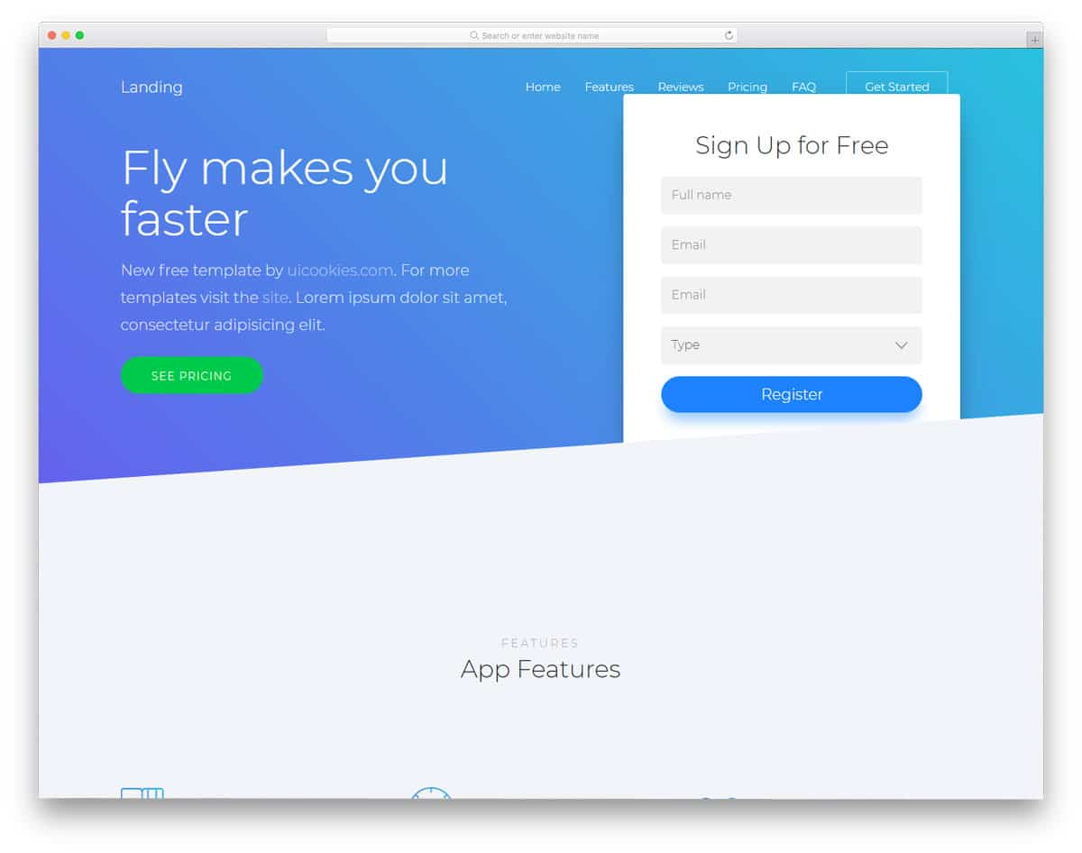 25 Best Free Bootstrap Landing Page Templates With Modern Design
