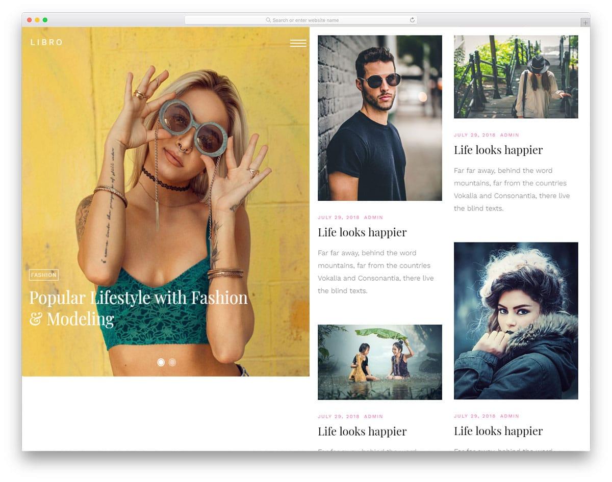 libro-free-blog-templates