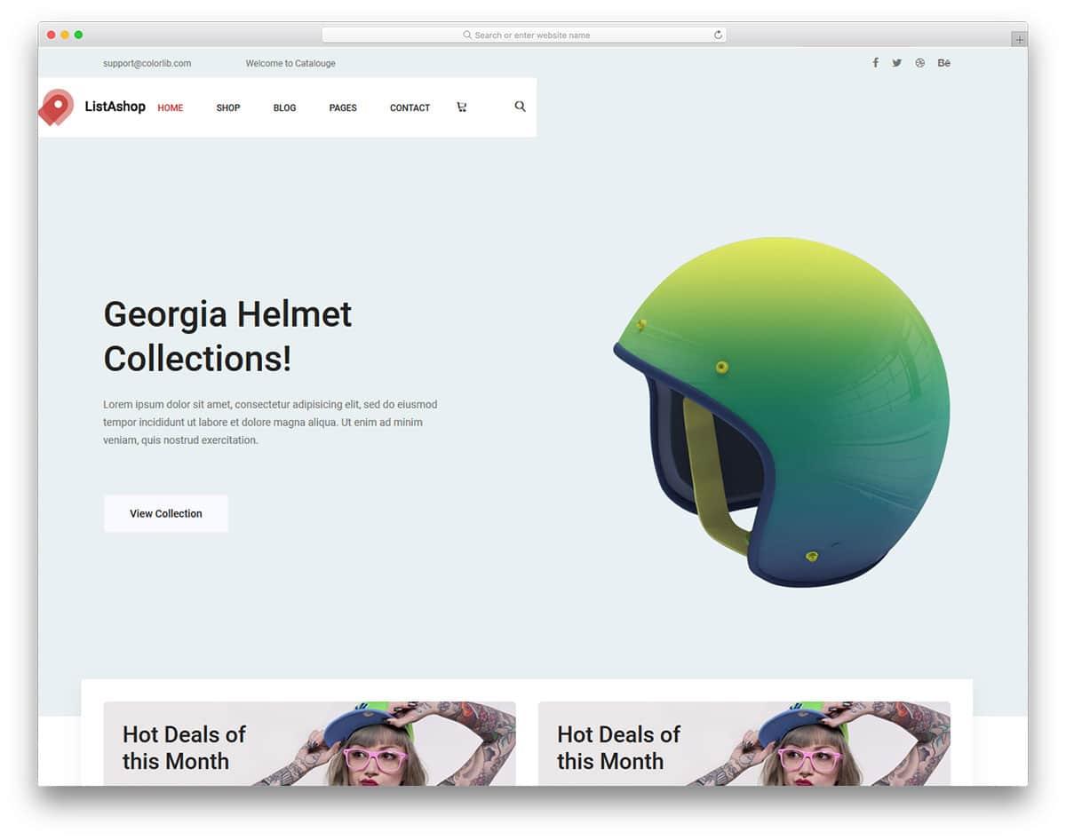 listashop-free-fashion-website-templates