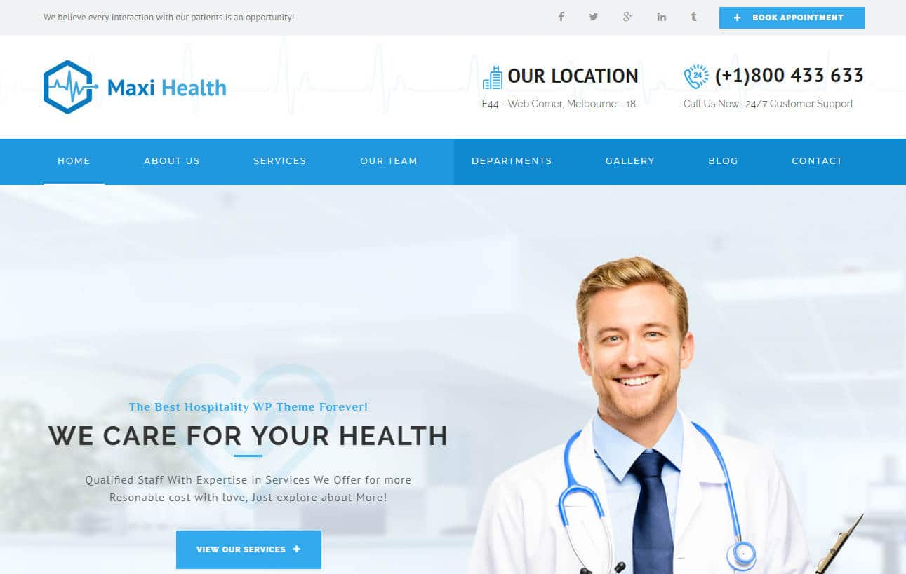 maxi health-html-medical-website-template