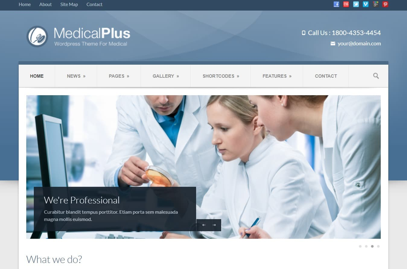 medic-plus-medical-website-template