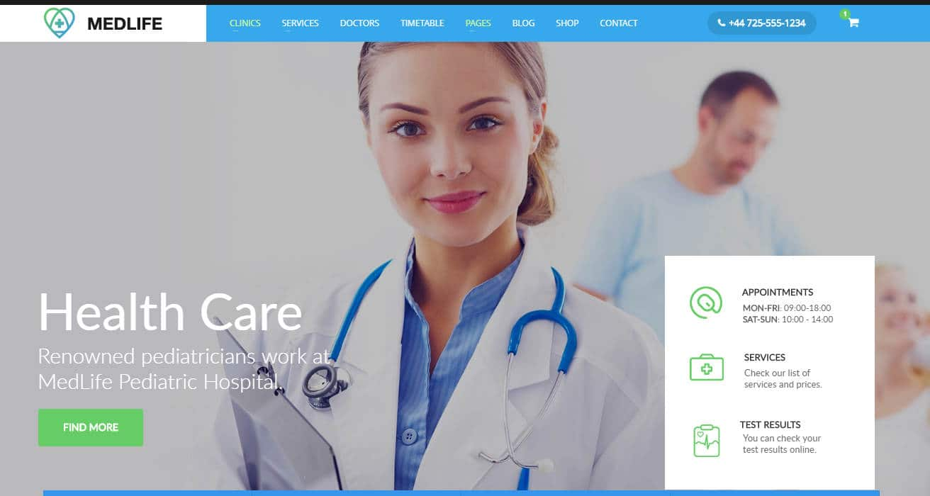 medical care-html-medical-website-template