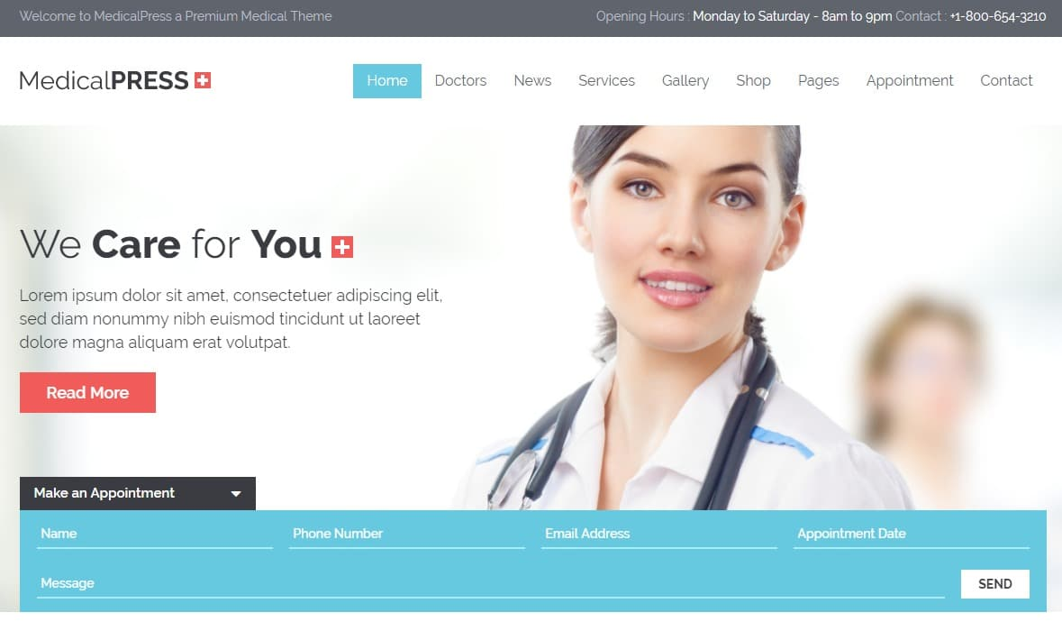medical-press-html-medical-website-template