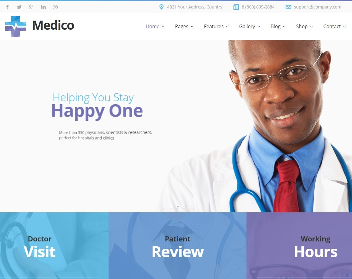 medico-html-medical-website-template