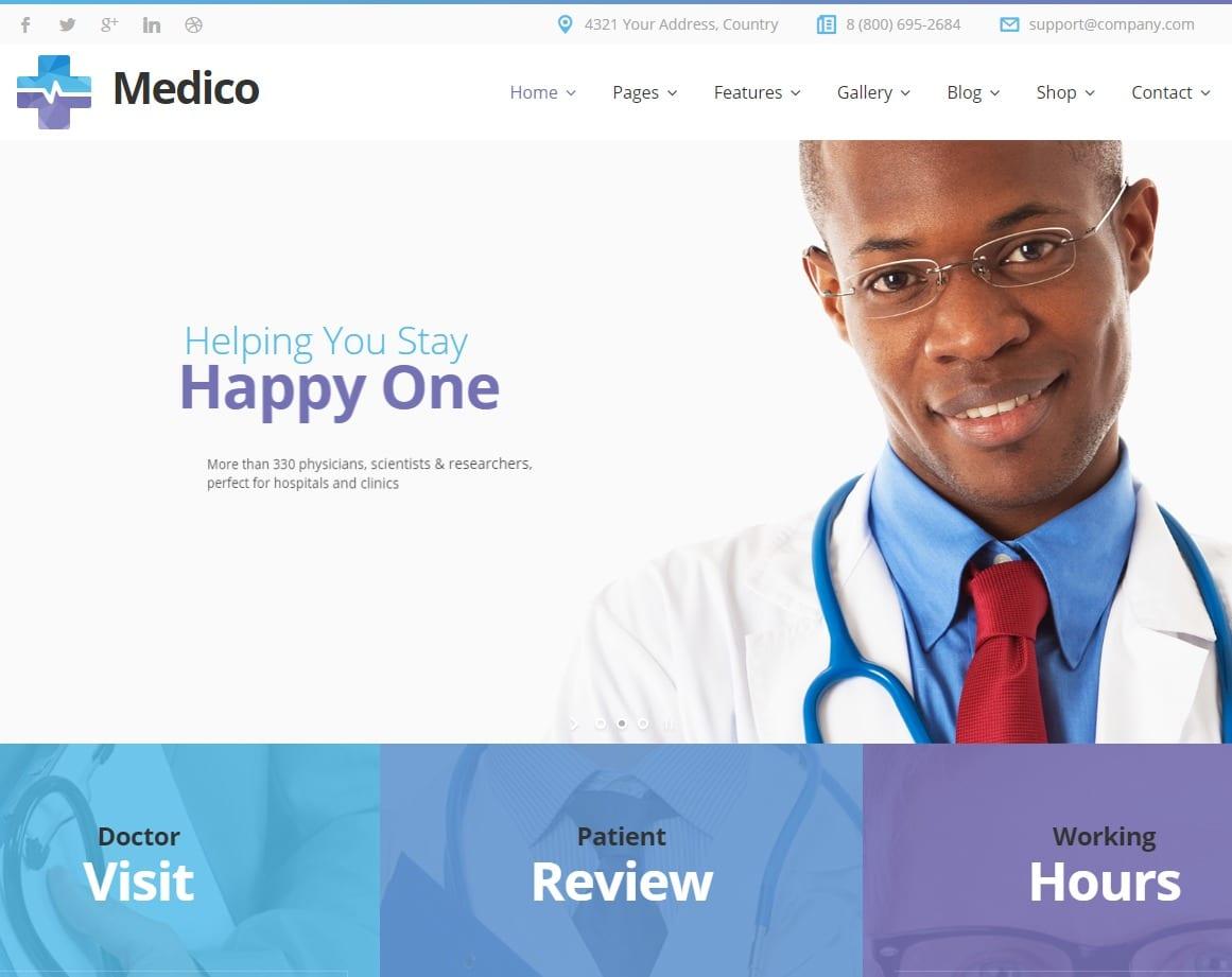 medico-html-medical-website-template