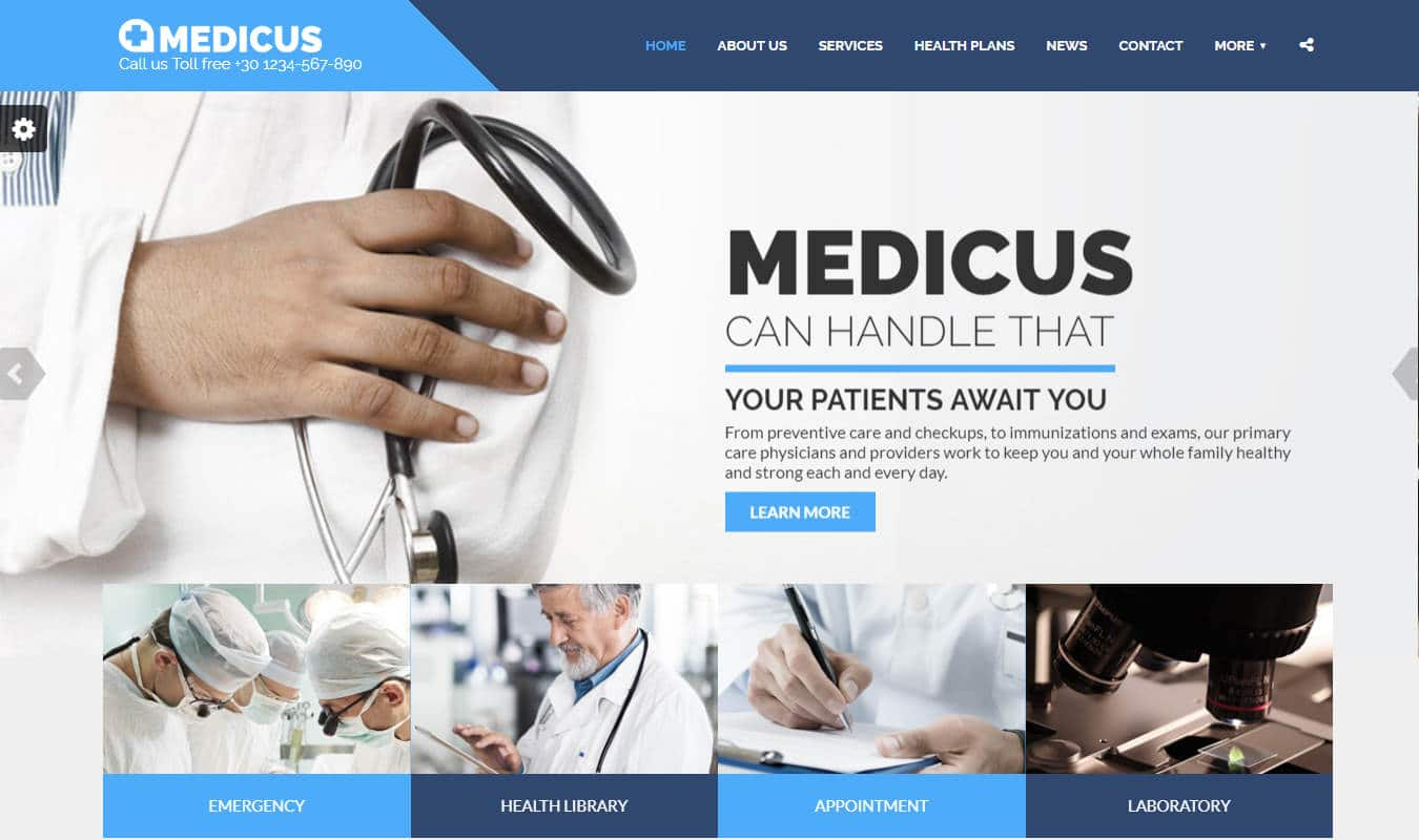 medicus-html-medical-website-template