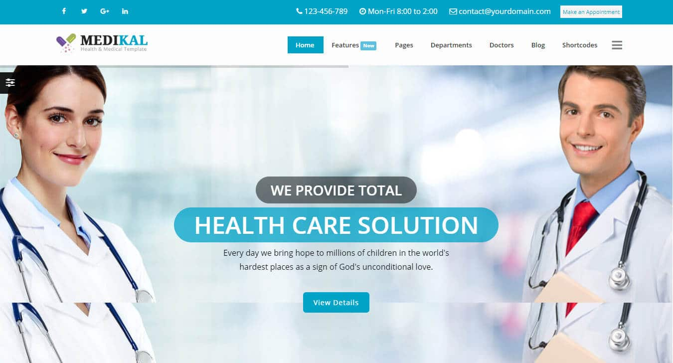 medikal-html-medical-website-template