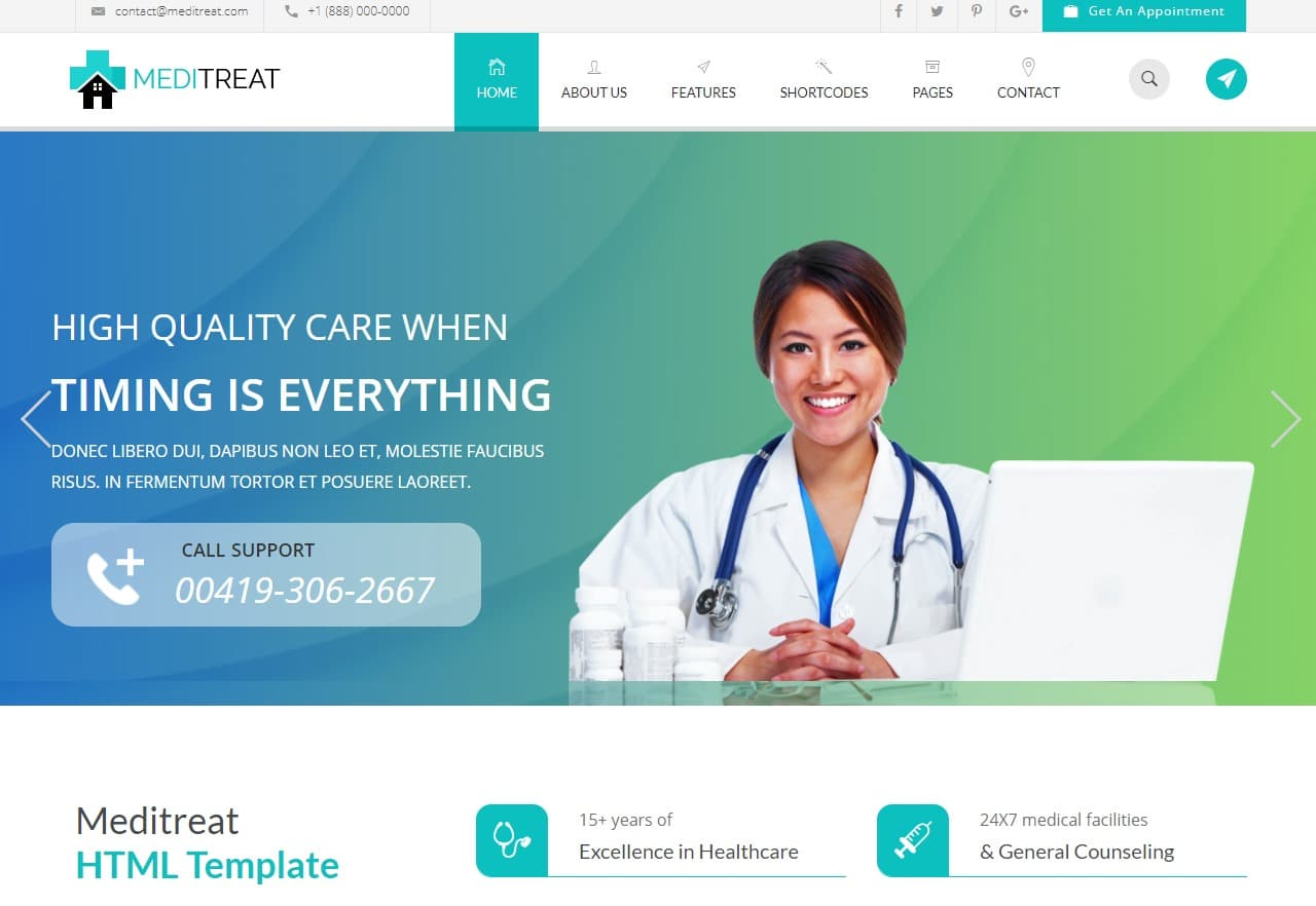 meditreat-html-medical-website-template