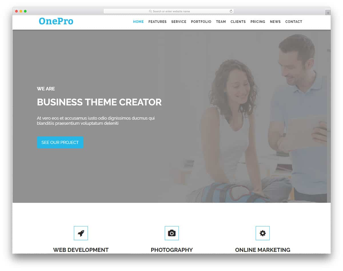 onepro-free-church-website-templates