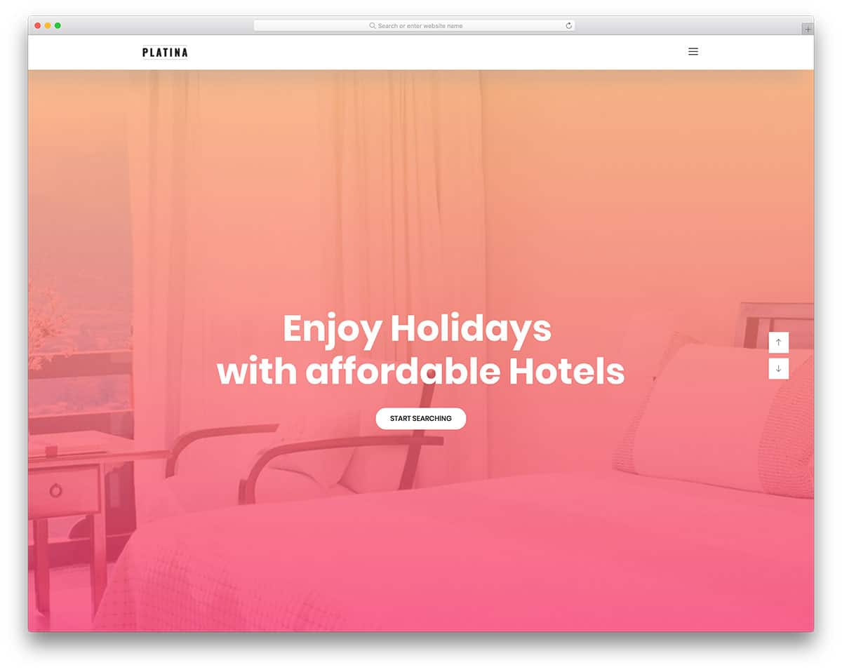 platina-free-hotel-website-templates