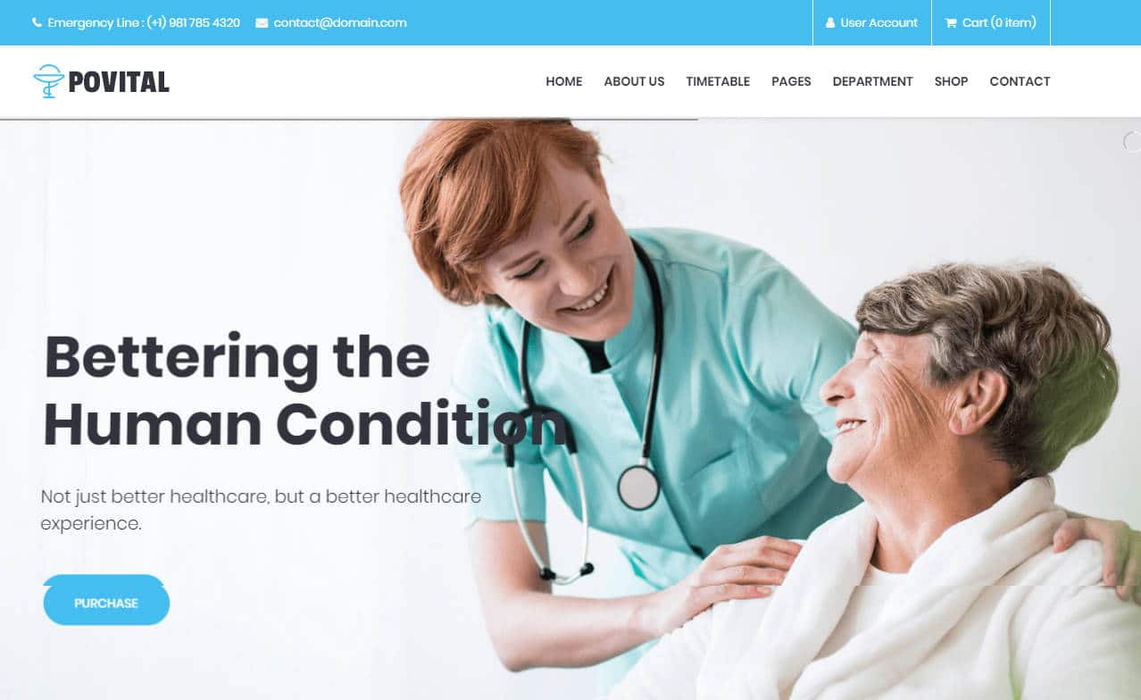 povital-html-medical-website-template
