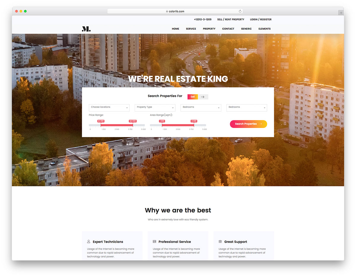 realestate-free-real-estate-website-templates