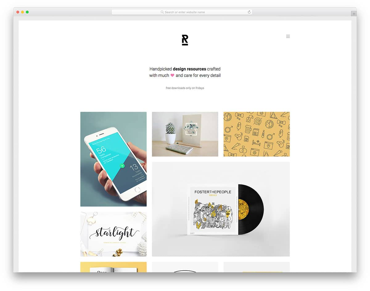 reopen free portfolio website templates