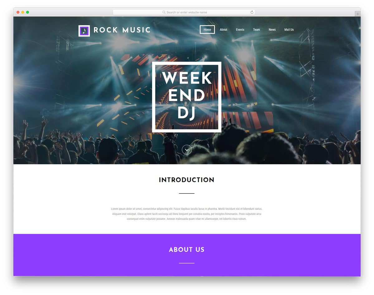 Best Free Event Website Templates That Event Managers Will Love - Event website template