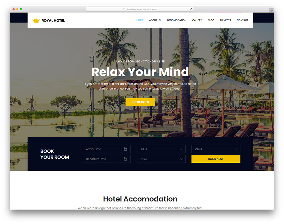 royal-free-hotel-website-templates