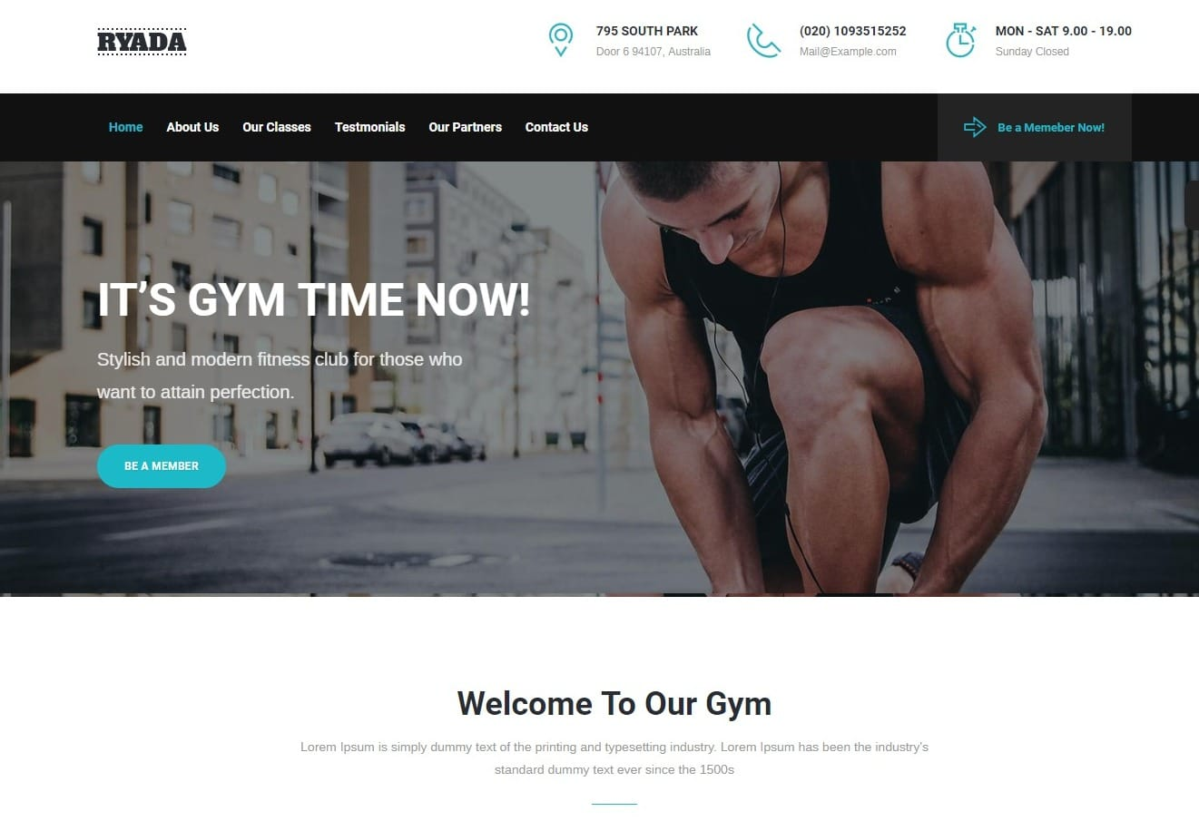 ryada-html-fitness-website-template