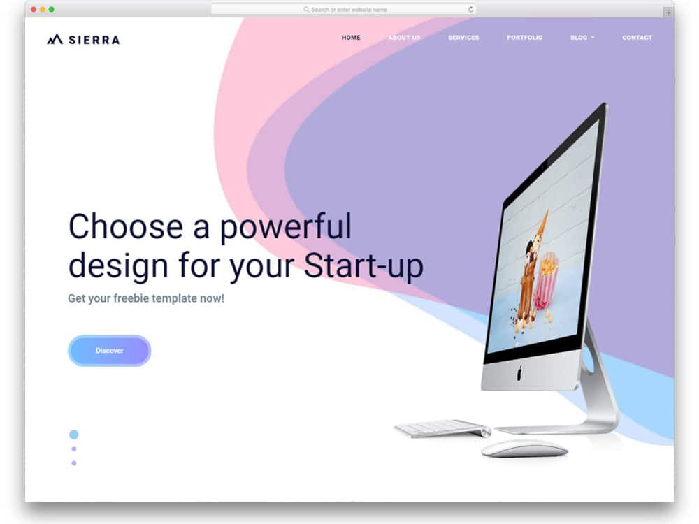 20 free bootstrap business templates to create a signature website sierra free bootstrap business templates wajeb Gallery