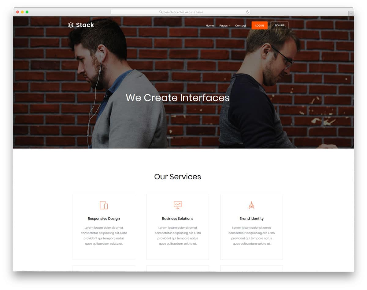 stack-free-bootstrap-business-templates