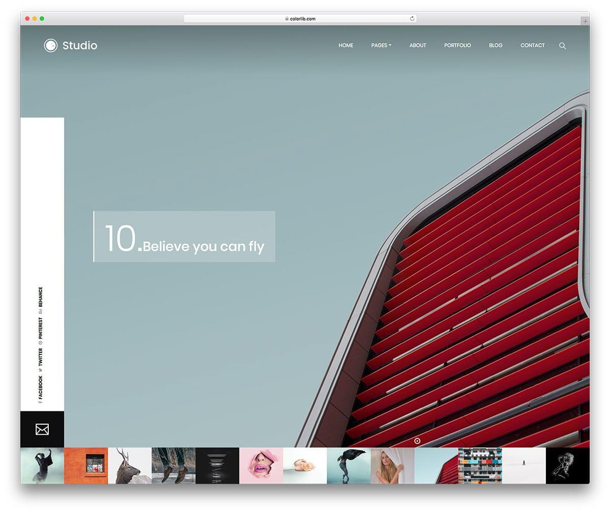 studio-free-fashion-website-templates
