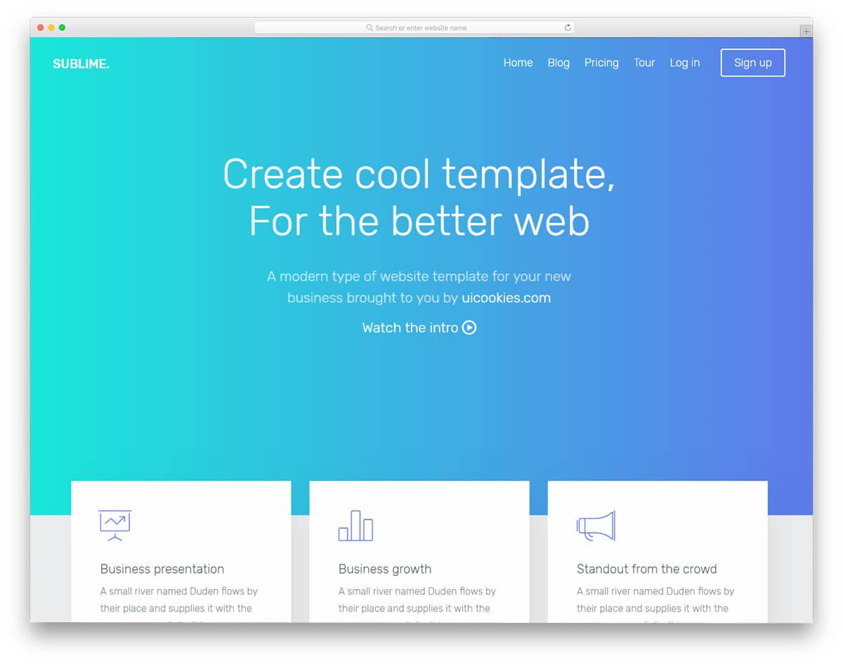 28 Best Free Bootstrap Landing Page Templates With Modern Design