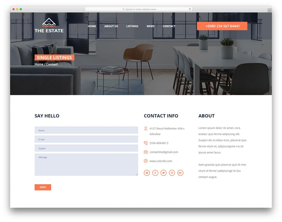 the-estate-free-hotel-website-templates