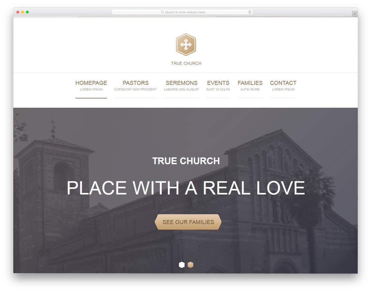 true-church-free-church-website-templates