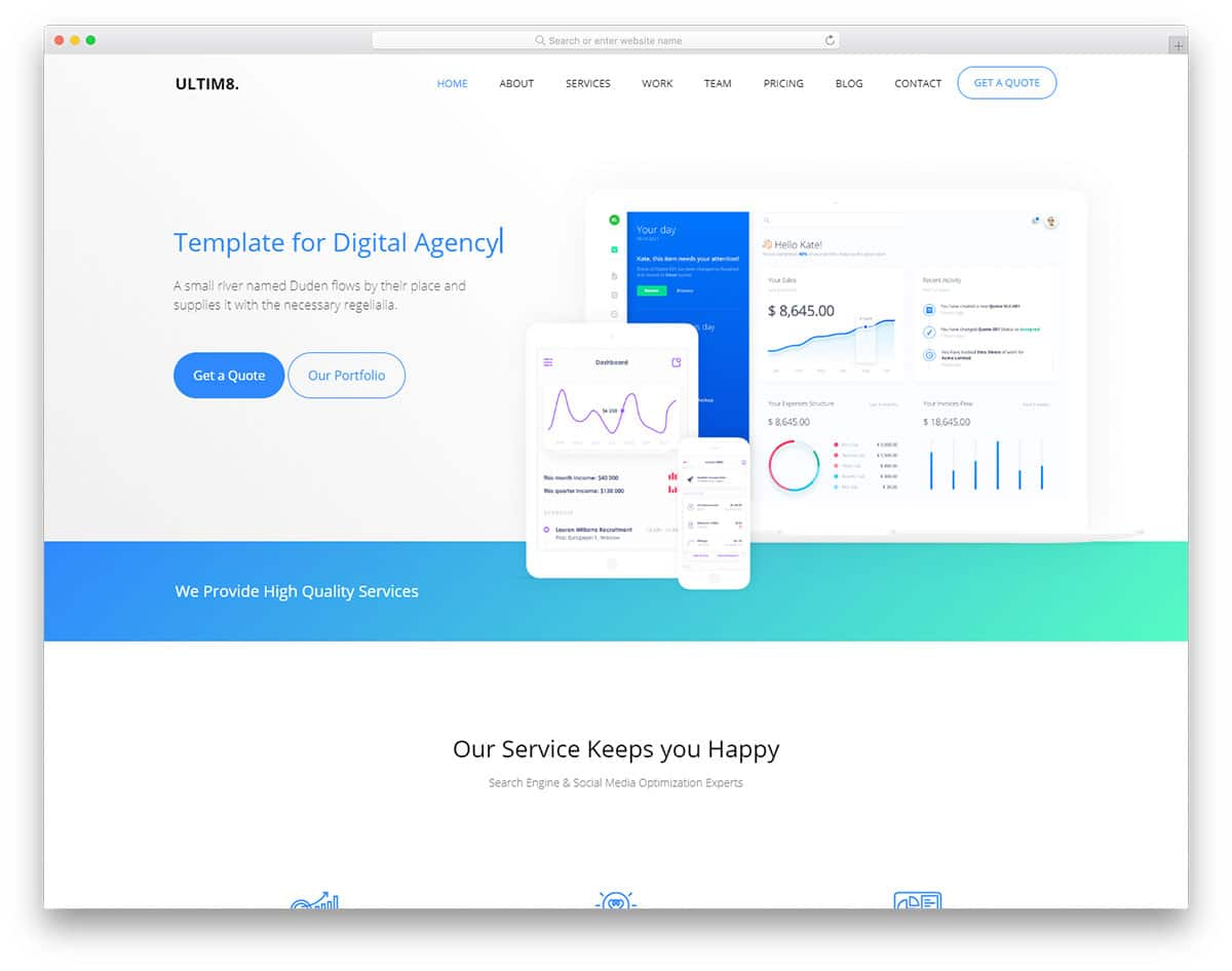 free css templates for online banking